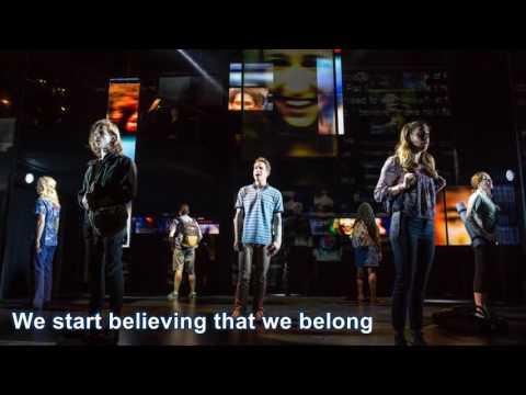Waving Through A Widow (Karaoke w/Lyrics) from Dear Evan Hansen
