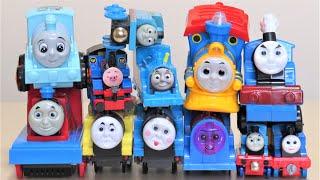 Thomas & Friends Fun Thomas pulls unique toys Plarail RiChannel