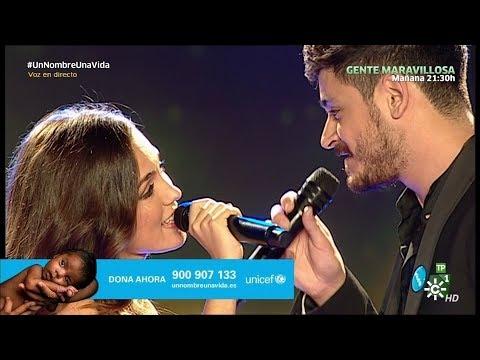 María Parrado, Cepeda ~ No Creo En Nada (Gala Unicef, Canal Sur) (Live) 2018 HD 4K
