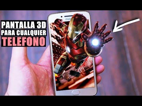 Pantalla 3D Para Cualquier Teléfono Android 2017!!