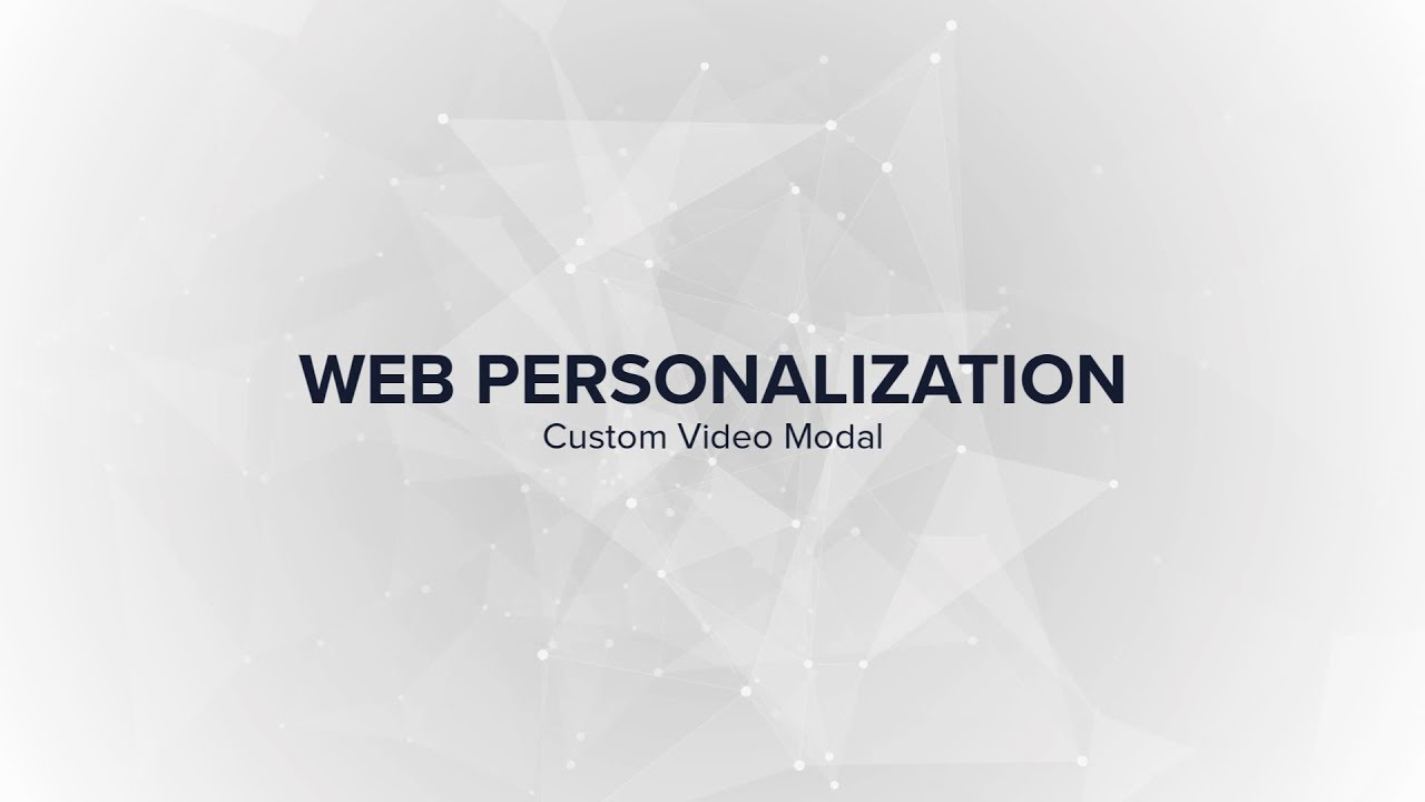 Learn Lytics | Build a Custom Personalized Experience With