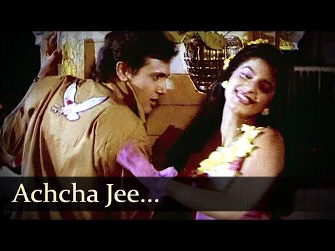 Achchha Jee - Govinda - Juhi Chawla - Bhabhi - Alka Yagnik & Udit Narayan Duets thumbnail