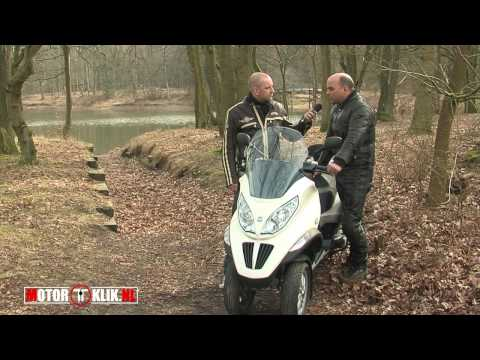 Piaggio MP3 2010 Hybrid 125cc Test