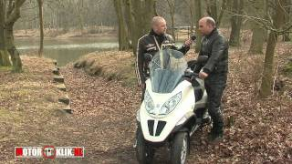 Piaggio MP3 2010 Hybrid 125cc Test