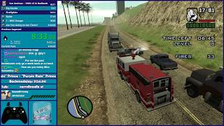 GTA San Andreas 100% Speedrun Practice & GTA Chinatown Wars - Hugo_One Twitch Stream - 6/26/2018
