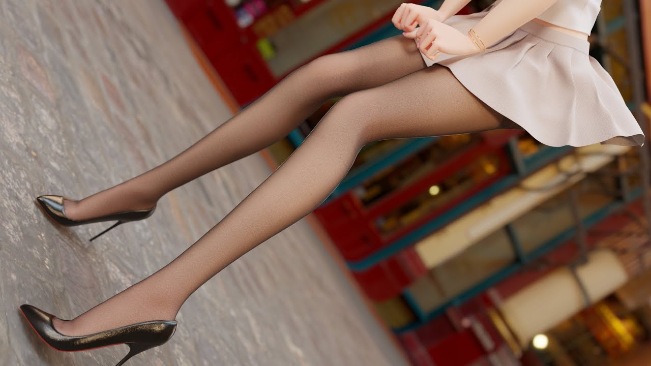 【新人UP】让可爱的女鹅在舞蹈区出道是什么体验?