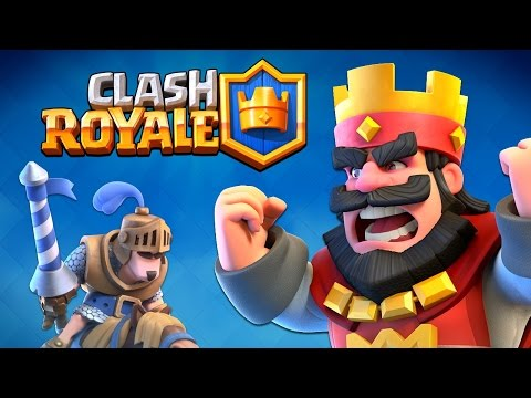 """NEW SUPERCELL Game """"CLASH ROYALE"""" Worlds First Gameplay Reveal!"""