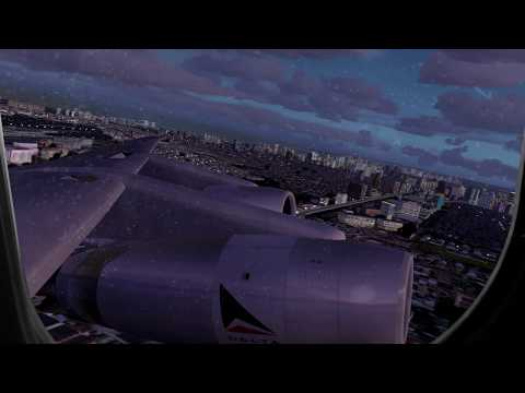 FSX 2016- The Douglas DC-8 & My Farewell to The Philippines!
