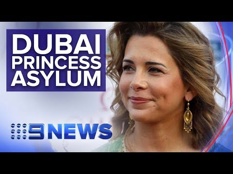 Dubai leader's wife reportedly flees to Germany with their children and $56m | Nine News Australia