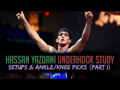 Hassan Yazdani Underhook Study - Setups & Ankle/Knee Picks (Part 1)