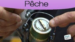 Apprendre à pêcher : régler le frein du moulinet