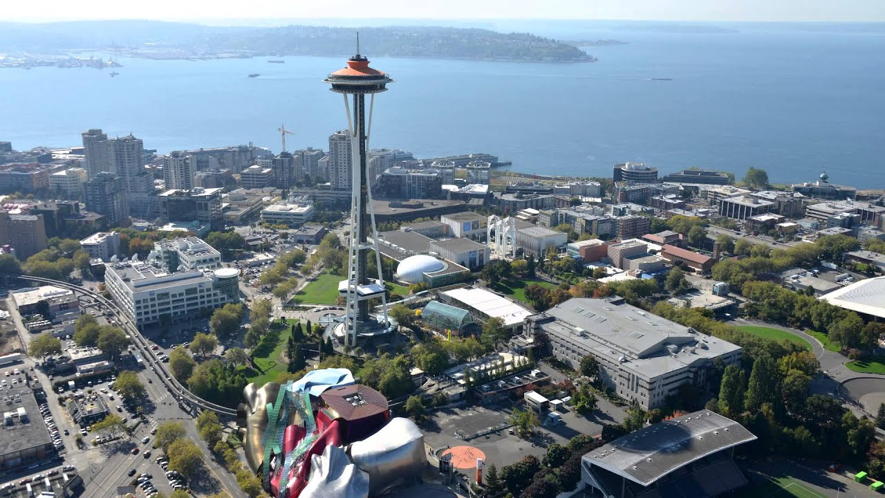 Helicopter Tour Seattle