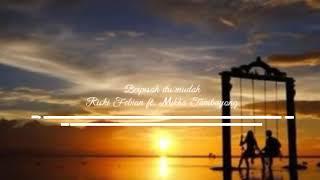 Lirik lagu Berpisah itu mudah - Riski Febian ft. Mikha Tambayong