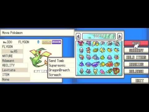 NDS - Pokemon Soul Silver - National Pokedex Complete - All 493 Pokemon In PC + Spare Legendaries