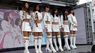 2015年開催のスーパーGT オートポリス戦でのレースクイーンステージです...