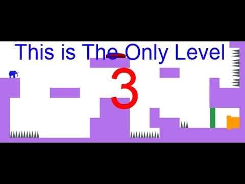 Let's Play This Is The Only Level... THREE |Merely Elephantine Run