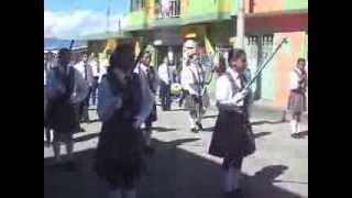 banda de marchas ITA Guavatá