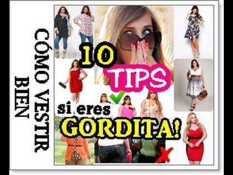 9f9dd6dd1 COMO VESTIR SI ERES GORDITA ¡10 TIPS para verte más guapa y estilizada!