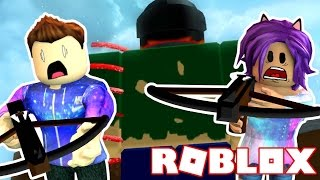 Slaying Giants On Roblox! w/JoeyGraceffa