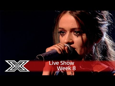 Emily Middlemas rocks out to Rag N Bone Mans Human   Shows Week 8  The X Factor UK 2016