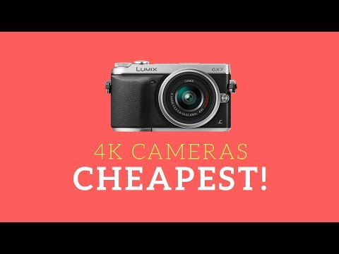 10 Cheapest 4K Cameras (Great Buy List) ✔