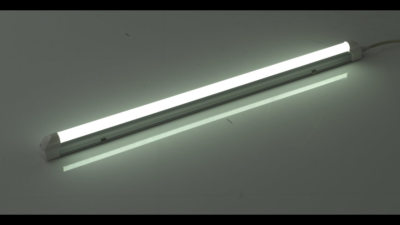 how to find out the length of a tube light