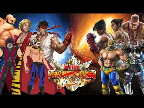 Fire Pro Wrestling Undisputed: Team Tiger Mask VS. King & Armor King | Street Fighter VS. Tekken