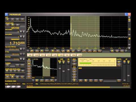 "1710 kHz AM Pirate Station ""The Big Q"" Feb.24th, 2013 Medium Wave DX Perseus SDR"