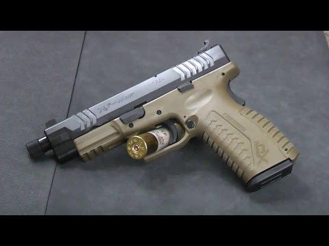 1st Look: Springfield XDm 45 Suppressor Ready