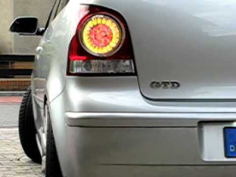 Vw Polo 9n 9n3 Led R 252 Ckleuchten Tail Lights From Passat