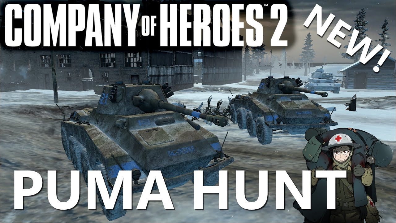 CoH2: Puma Hunt (Company of Heroes 2)