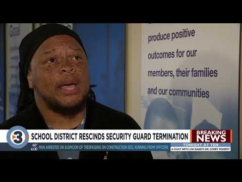 Frankie Darcell - School Security Guard Fired Then Rehired After N-Word Controversy