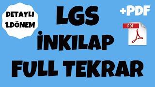 LGS İNKILAP TARİHİ FULL TEKRAR | DETAYLI SON TEKRAR