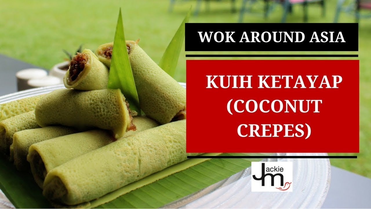 How To Make Kuih Ketayap Crepe With Coconut Filling