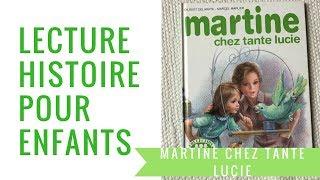 Martine chez tante Lucie - Lecture pour enfants
