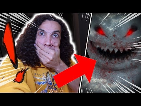 *GONE WRONG* I MADE A SNOWMAN AT 3 AM AND IT CAME TO LIFE!! (IT ATTACKED ME!!)