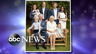 New royal family photos released for Prince Charles' 70th birthday
