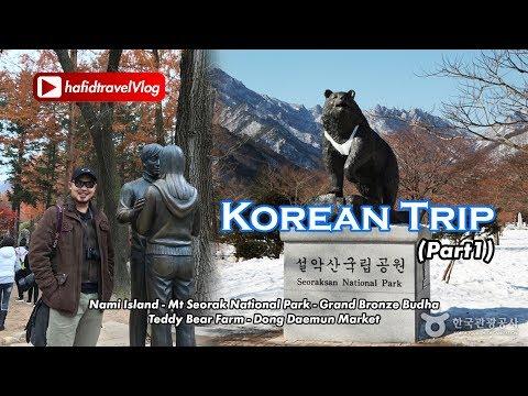 Trip To Korea (Nami Island & Mt Sorak)