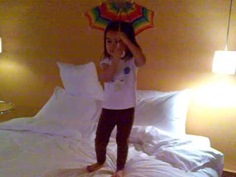 Tatiana Singing Barney's If All the Raindrops