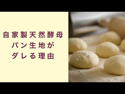 【自家製天然酵母】酵母パン生地がだれてくる理由とは フルーツ酵母 自家製天然酵母 パン教室 教室開業 大阪 奈良 東京 福岡 名古屋