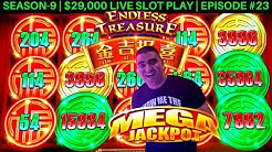 Endless Treasures Slot Machine MASSIVE HANDPAY JACKPOT  | Season 9 | Episode #23