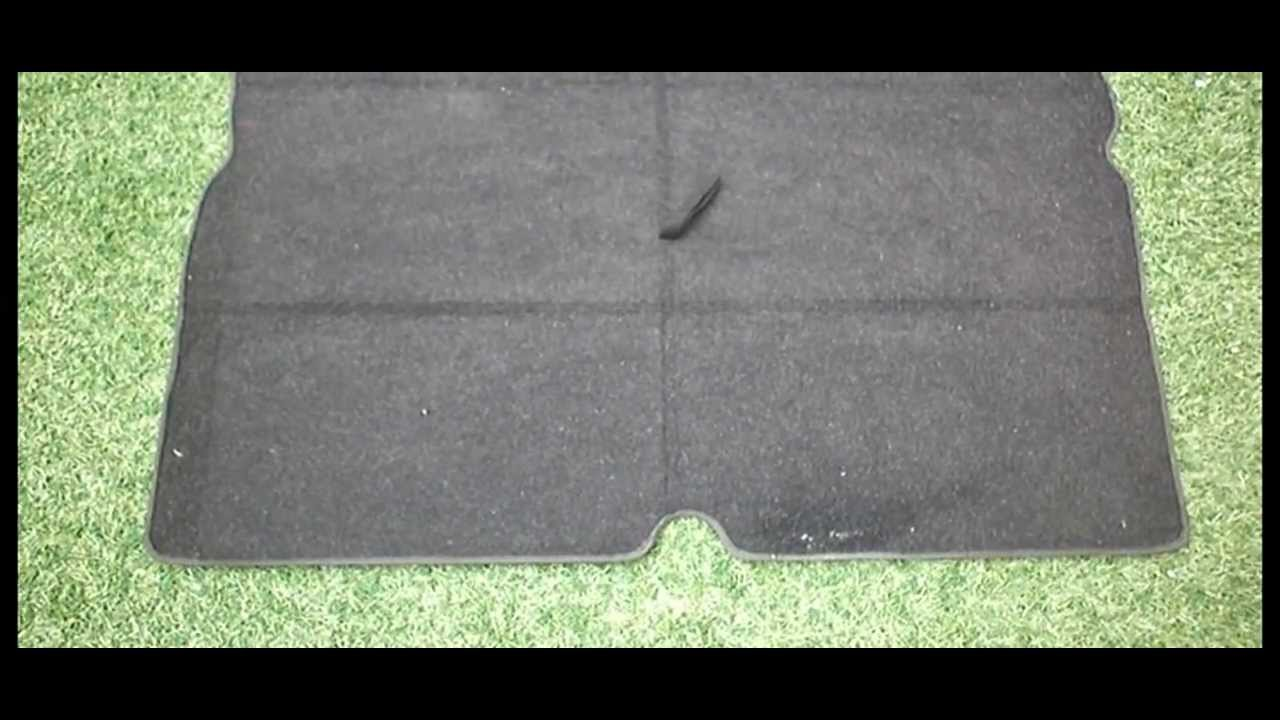 Vauxhall Zafira Original Rear Boot Mat Carpet Liner From