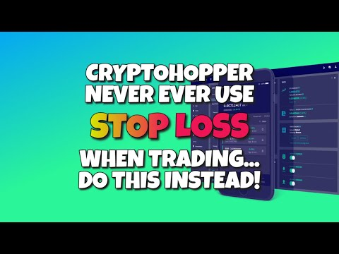 CryptoHopper Update 12 – Why You Should Never Activate Stop Loss When Cryptocurrency Trading