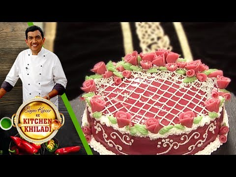 Sanjeev Kapoor Ke Kitchen Khiladi - Episode 31 - Three-Layered Marzipan Cake