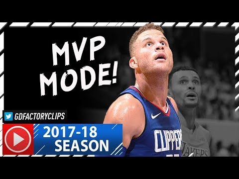 Blake Griffin Full Highlights vs Lakers (2017.10.19) - 29 Pts, 12 Reb, BEAST!