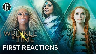 A Wrinkle In Time First Social Media Reactions are Mixed
