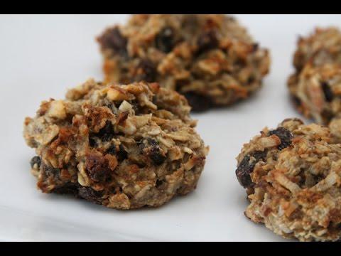 No Sugar Added Oatmeal Raisin Cookies