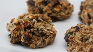 No Sugar Added Oatmeal Raisin Cookies
