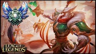 ► AZIR REINOS EN GUERRA vs LUX MID [GUIA S7 en ESPAÑOL] - League of Legends