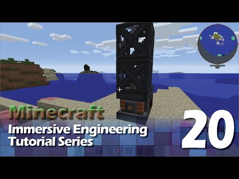 Immersive Engineering Tutorial #20 - Core Sample Drill